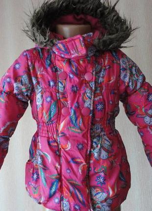 Демисезонная куртка на флисе 3г
