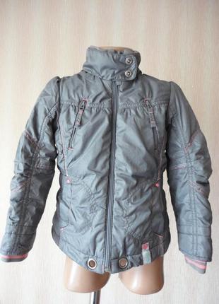 Демисезонная куртка next для девочки 3-4г