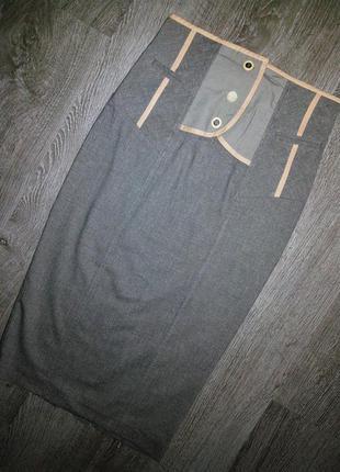 Стильная юбка-карандаш с высокой посадкой от river island💣
