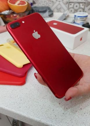 iPhone 7+ 256gb RED