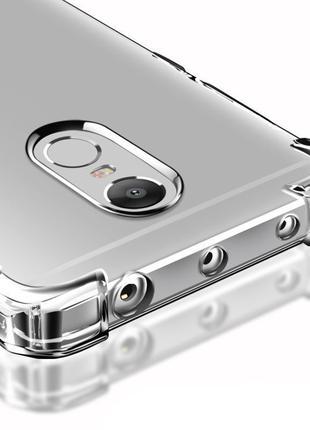 Чехол силиконовый для Xiaomi Redmi Note 4X прозорый