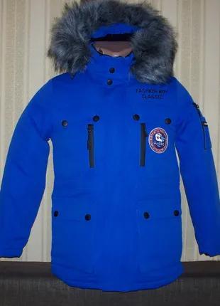 Куртка парка зимняя для мальчиков 146, 158 Венгрия