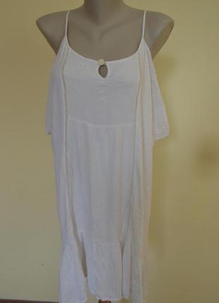 Шикарная блузочка майка длинная или платье свободного фасона.