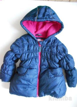 Теплая демисезонная куртка 1-2 годика рукав 33
