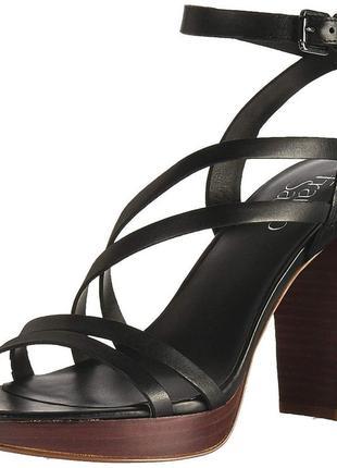 Женские босоножки franco sarto maryann heeled оригинал 37.5 eur