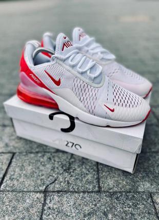 Мужские кроссовки nike air max 270 белые 41-45р