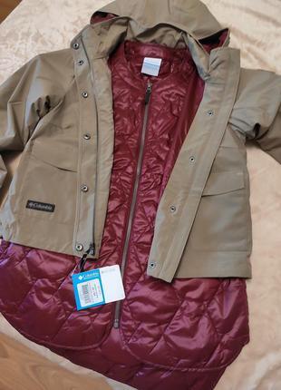 Куртка columbia  3 в 1 2 куртки по цене одной. оригинал.