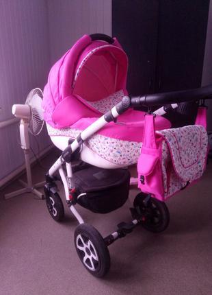 Детская коляска Adamex Erika 2 в 1