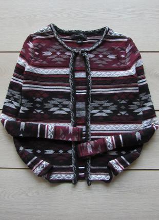 Акция! стильный пиджак жакет в орнамент бохо от atmosphere
