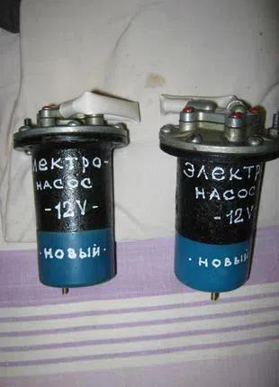 Электробензонасос печки заз 12 в. ( низкого давления)