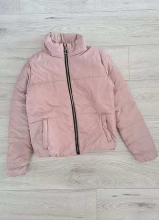 Новая дутая куртка зефирка на девушку