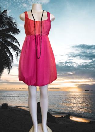 Нарядное вечернее платье на стройную девушку из натурального ш...