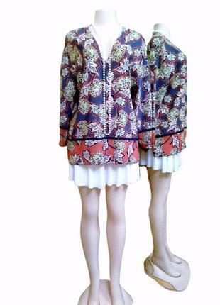 Идеальная блуза zara, цветочный принт