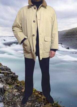 Бежевая куртка ветровка darebridqe, большой размер