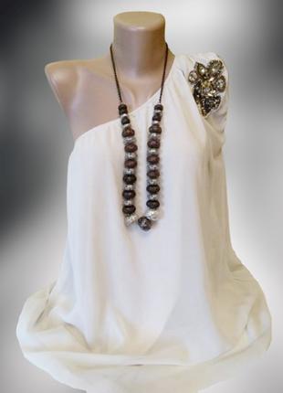 Нарядное новое вечернее платье vero moda, цвет айвори , индия.