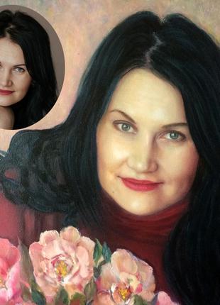 Портреты, картины маслом на заказ