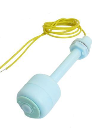 Поплавковый датчик уровня воды или прочей жидкости, вертикальный