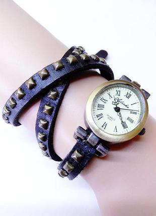 Часы кварцевые женские ailisha, браслет из натуральной толстой...
