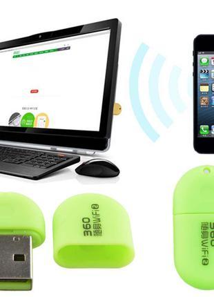 Мини Wi-Fi USB router роутер