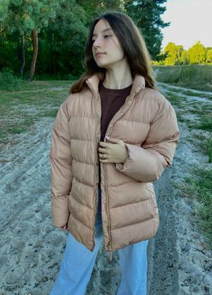 Модная женская куртка весна осень оверсайз крой
