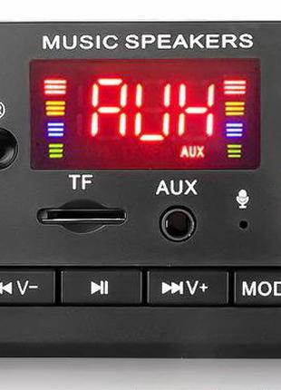 Модуль FM, MP3, Bluetooth, 5-12v с пультом