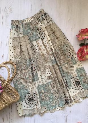 Длинная юбка миди/юбка плиссе!