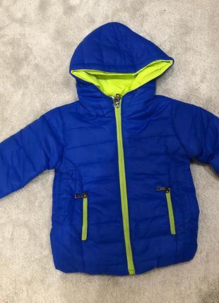 Легкая куртка для мальчика сезон весна-осень