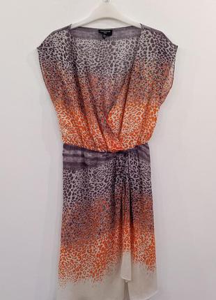 Платье из натурального шелка warehouse