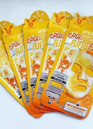 🧡elizavecca vita deep power маска для лица с витаминным компле...
