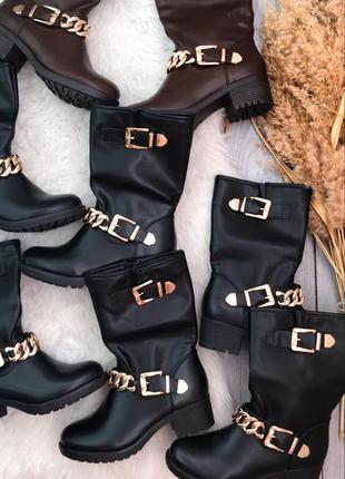 Лот 4 пары обуви новые сапоги 38 39 шикарные стильные модные с...
