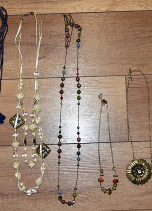 Ожерелья, бусы, цепочки бижутерия
