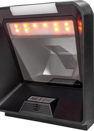 Настольный всенаправленный фото сканер штрих-кода Netum NT-208...