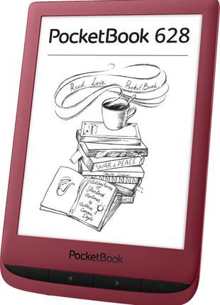 Электронная книга PocketBook 628, Ruby Red