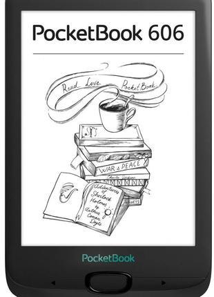 Электронная книга PocketBook 606, Black