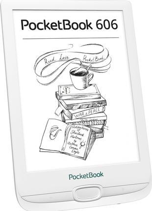 Электронная книга PocketBook 606, White