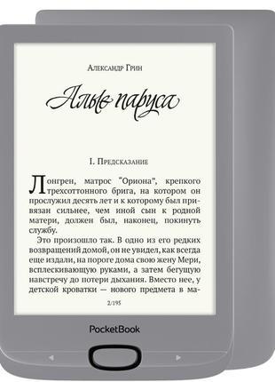 Электронная книга PocketBook 616, Matte Silver