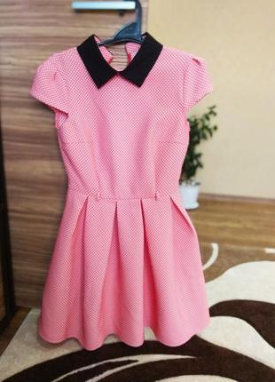 💯 💯 новое  💯 платье колокольчик нежно розовое нарядное 👗