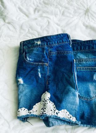 Суперские джинсовые шорты женские