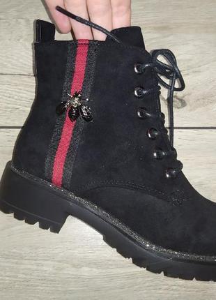 Весна женские ботинки деми  низкий ход жіночі полуботинки