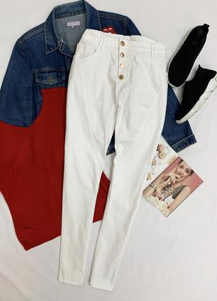 Белые брюки janina
