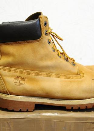 46/30см, timberland мужские ботинки оригинал, кожа,тимберленд ...