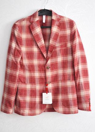 Р. (s), falko rosso (made in italy), стильный мужской пиджак -...