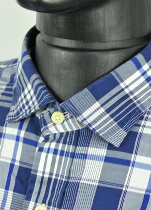 Polo ralph lauren мужская рубашка клетка, сорочка длинный рука...