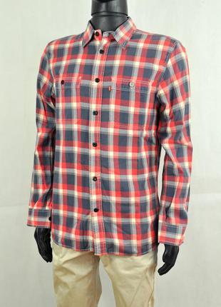 Levi's мужская рубашка клетка, сорочка кежуал левис