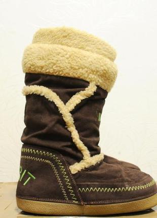 Esprit женские зимние ботинки/снегоходы теплые, угги, сьемный ...