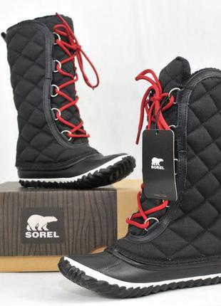 Sorel женские зимние ботинки сапоги, ecco pajar жіночі  термо ...