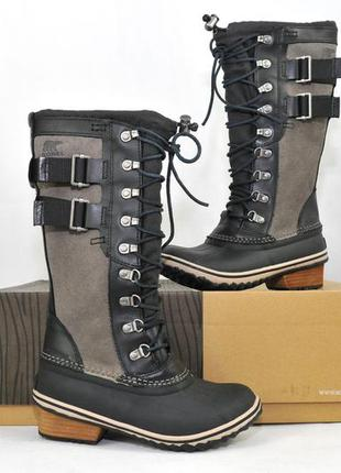 Sorel conquest carly ii, женские зимние ботинки сапоги дутики,...