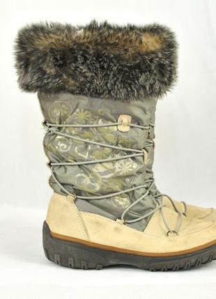 Cougar, женские зимние сапоги термо ботинки, дутики, жыночы зи...