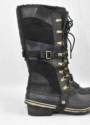 Sorel conquest carly женские зимние ботинки сапоги дутики, ecc...