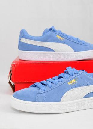 Puma suede classic allure, оригинал сша,  синие женские кроссо...